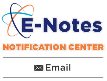 E-Note Notification Center